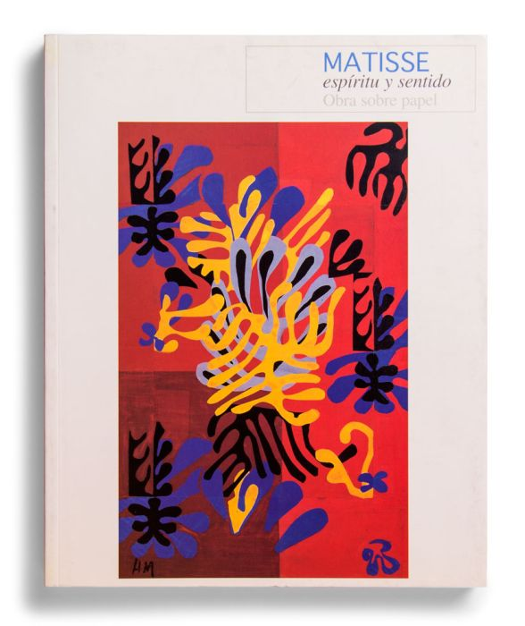 Catalogue : Matisse: espíritu y sentido. Obra sobre papel