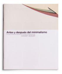 Ver ficha del catálogo: ANTES Y DESPUÉS DEL MINIMALISMO