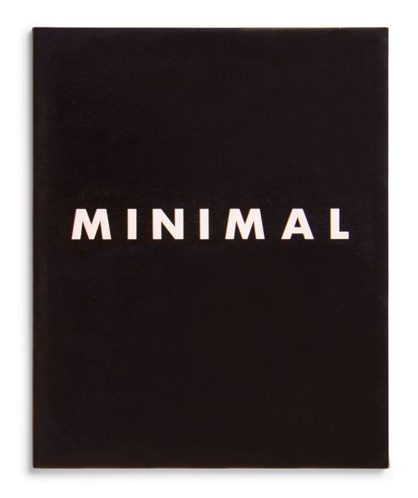 Catalogue : Minimal Art