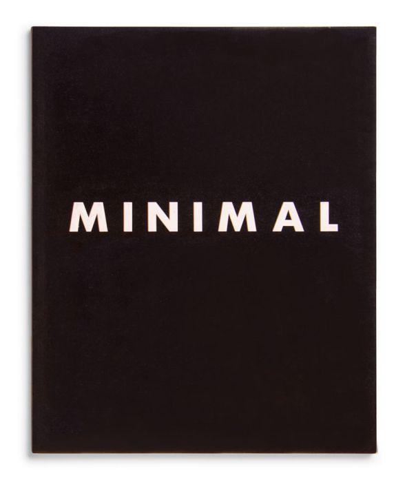 Catálogo : Minimal Art