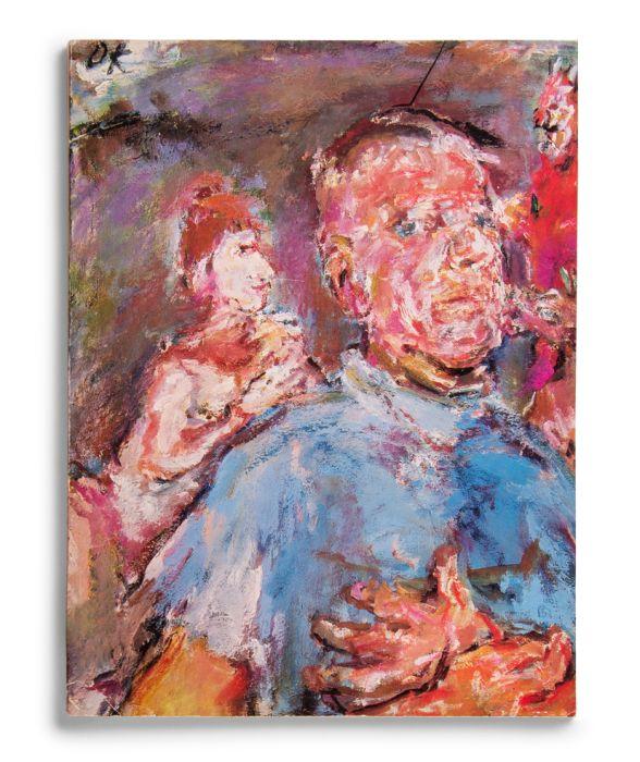 Catalogue : Oskar Kokoschka . Óleos y acuarelas, dibujos, grabados, mosaicos, obra literaria