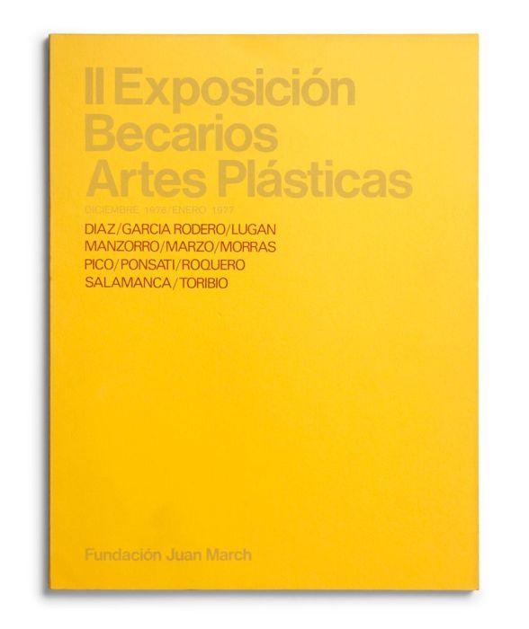 Catalogue : Exposición becarios de artes plásticas II