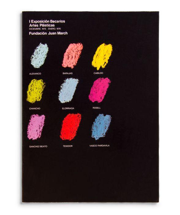 Catalogue : Exposición becarios de artes plásticas I