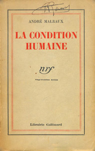 Front Cover : La condition humaine