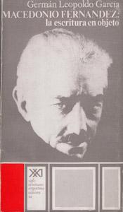 Front Cover : Macedonio Fernández, la escritura en objeto