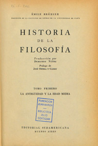 Front Cover : Historia de la Filosofía