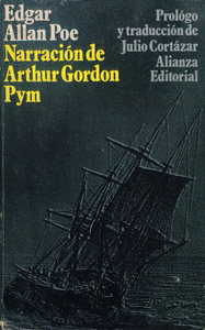 Front Cover : Narración de Arthur Gordon Pym de Nantucket