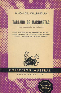 Front Cover : Tablado de marionetas