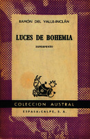Luces de bohemia esperpento [1961]. Biblioteca