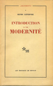 Front Cover : Introduction a la modernité