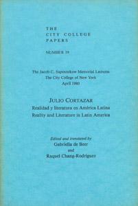 Front Cover : Realidad y literatura en América Latina =