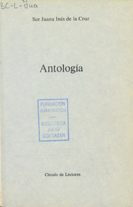 Front Cover : Antología