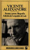 Poesía y prosa biografía [1982]. Biblioteca