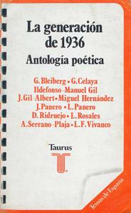 Front Cover : La generación de 1936