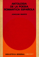 Antología de la poesía romántica española [1972]. Biblioteca