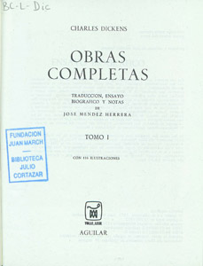Front Cover : Obras completas