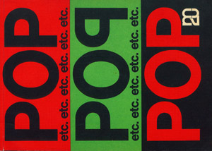 Front Cover : Pop etc
