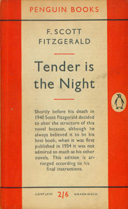 Front Cover : Tender is the night