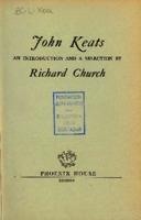 Ver ficha de la obra: John Keats