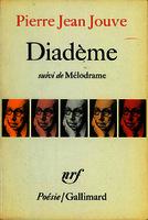 Diadème ; suivi de Mélodrame [1970]. Biblioteca
