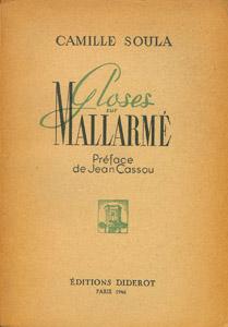 Front Cover : Gloses sur Mallarmé