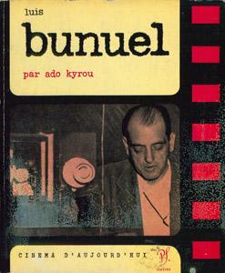 Cubierta de la obra : Luis Bunuel [sic]