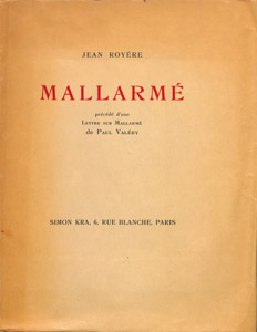 Front Cover : Mallarmé