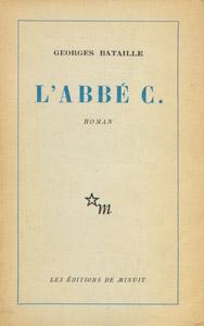 Cubierta de la obra : L' Abbé C