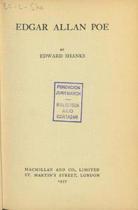 Front Cover : Edgar Allan Poe