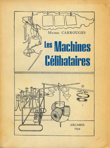 Cubierta de la obra : Les machines célibataires