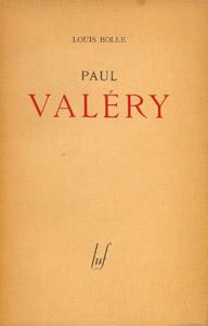 Cubierta de la obra : Paul Valéry