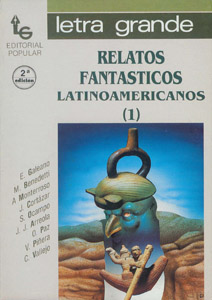 Front Cover : Relatos fantásticos latinoamericanos