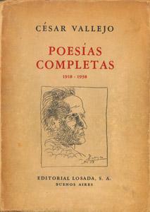 Front Cover : Poesías completas (1918-1938)