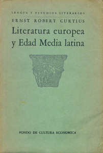 Front Cover : Literatura europea y Edad Media latina