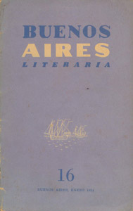 Front Cover : Buenos Aires Literaria