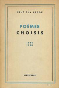 Front Cover : Poèmes choisis, 1944-1950