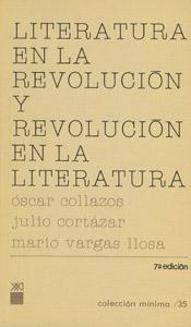 Cubierta de la obra : Literatura en la revolución y revolución en la literatura