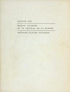 Front Cover : Marcel Duchamp ou Le chateau de la pureté