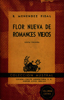 Flor nueva de romances viejos [1946]. Biblioteca
