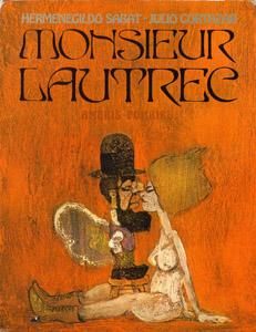 Cubierta de la obra : Monsieur Lautrec