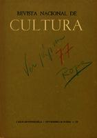 Revista Nacional de Cultura [1963]. Biblioteca