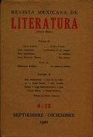 Ver ficha de la obra: Revista Mexicana de Literatura