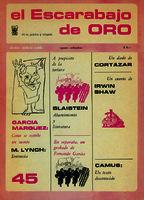El escarabajo de oro [1972]. Biblioteca