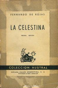 Cubierta de la obra : La Celestina
