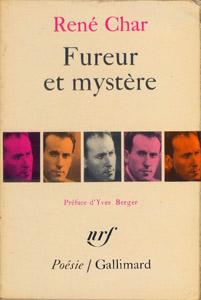 Cubierta de la obra : Fureur et mystère