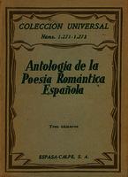 Antología de la poesía romántica española [1941]. Biblioteca
