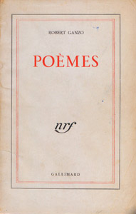 Front Cover : Poèmes