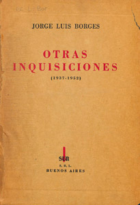 Front Cover : Otras inquisiciones (1937-1952)
