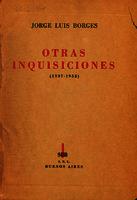 Otras inquisiciones (1937-1952) [1952]. Biblioteca