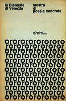 Poesía concreta indirizzi concreti, visuali e fonetici []. Biblioteca